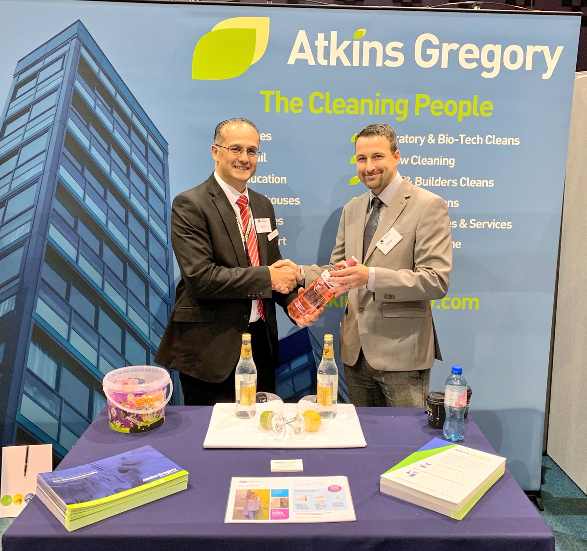 Peterborough B2B Exhibition 2018, Atkins Gregory Ltd Cambridge Cleaning Contractors
