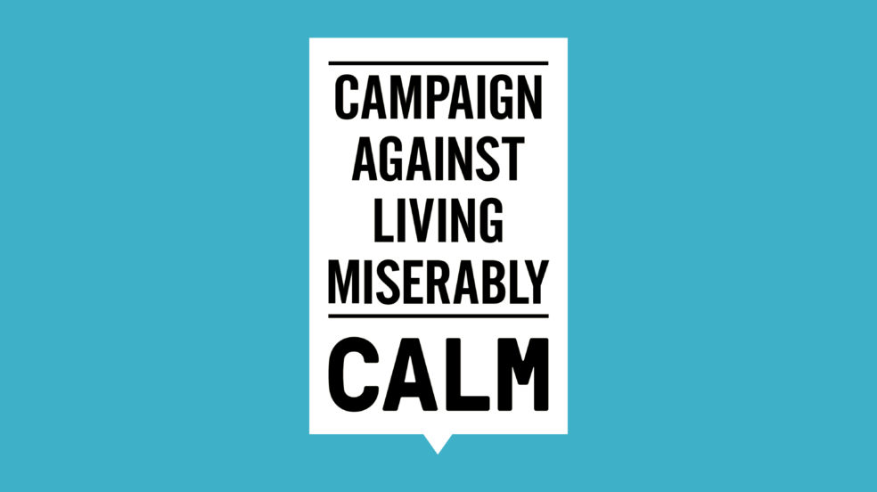 Suicide charity CALM